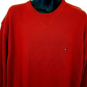 Vintage Tommy Hilfiger Mens XXL Crewneck Sweater